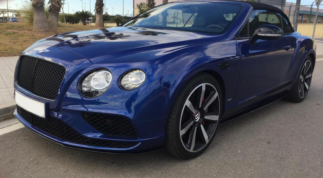 Bentley Continental GTC Rental Ibiza