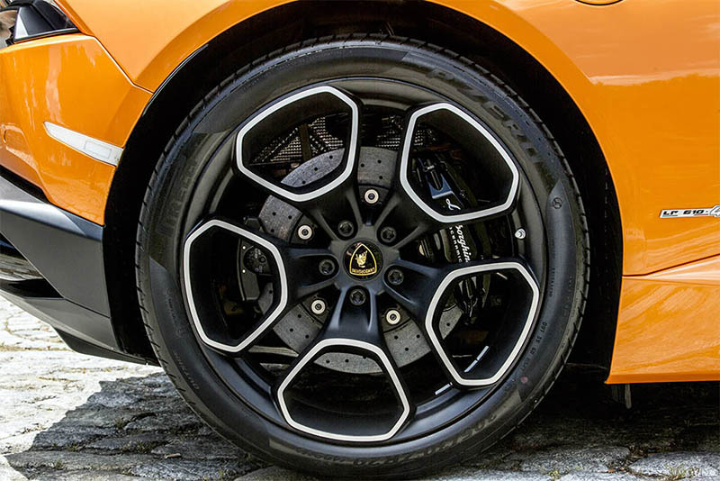 Lamborghini Huracan Spyder Detalle