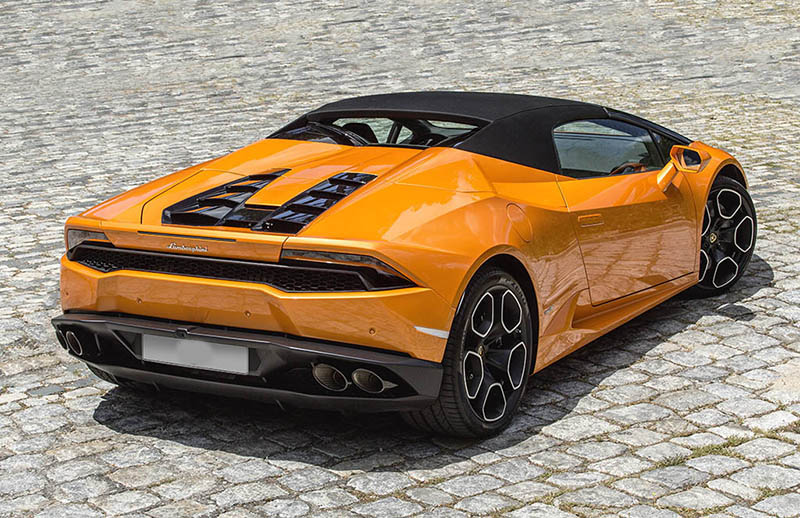 Lamborghini Huracan Spyder Ibiza Trasera