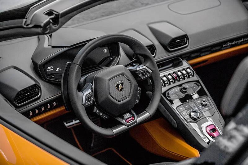 Lamborghini Huracan Spyder Mandos