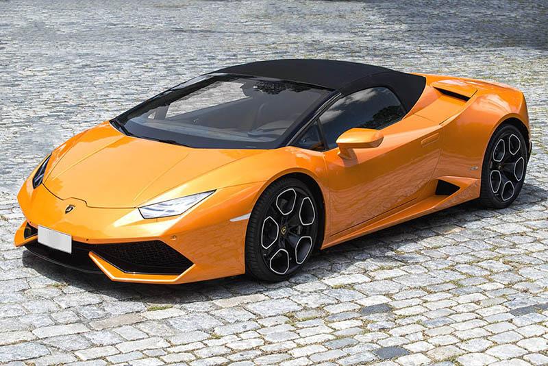 Lamborghini Huracan Spyder Roof