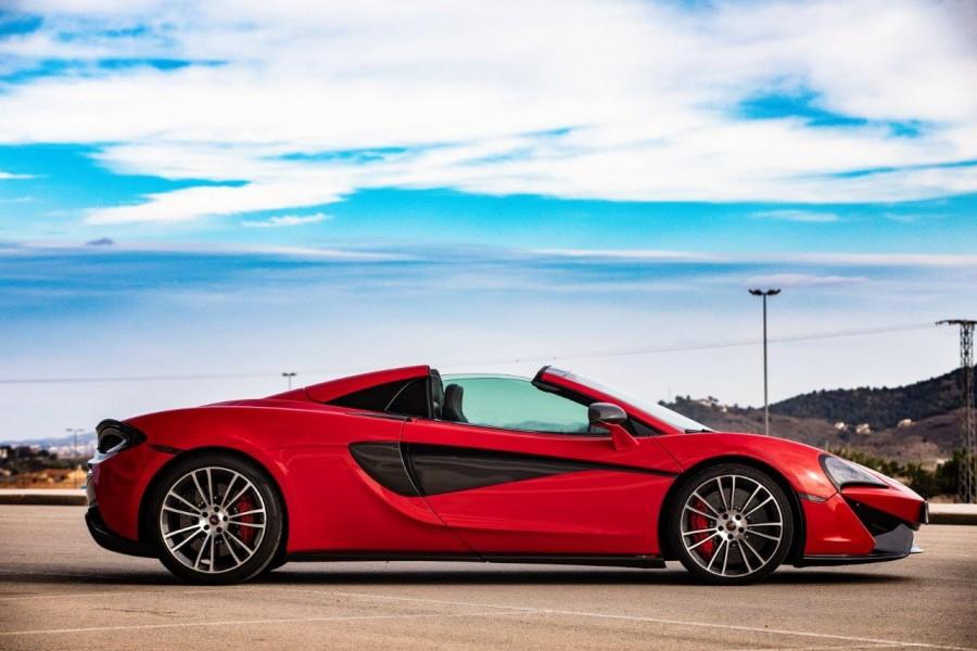 McLaren 570 S Spider Rental Ibiza