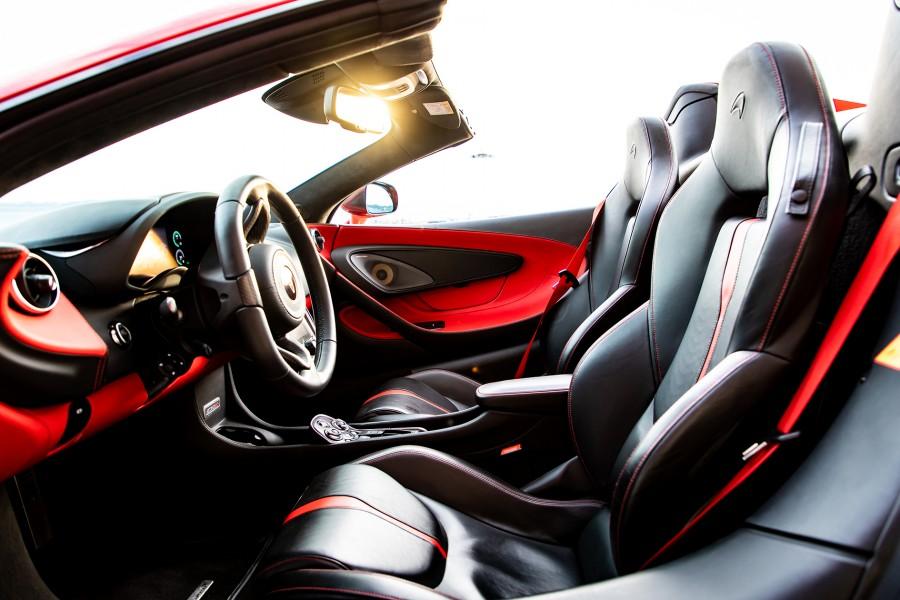 McLaren 570 S Spider Rental Ibiza5