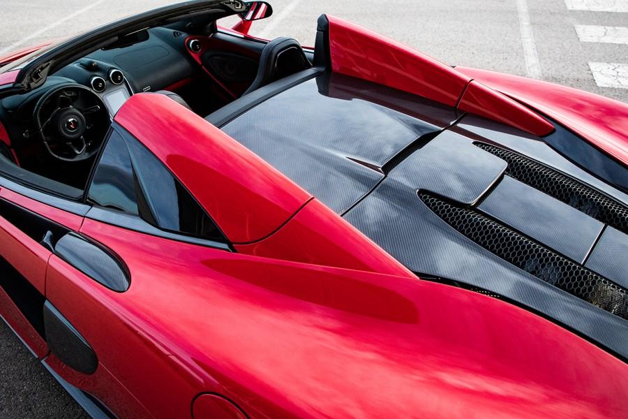 McLaren 570 S Spider Rental Ibiza6