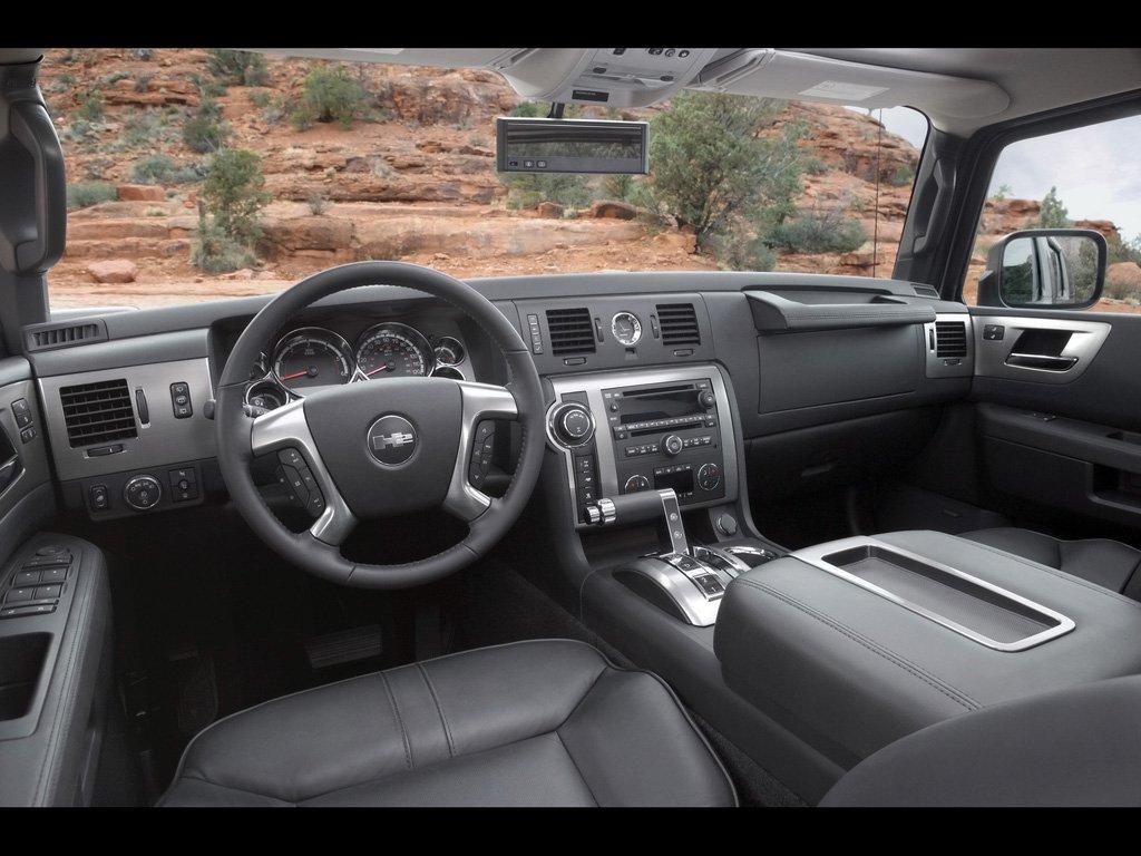 Hummer H2 V8 Luxury Inside