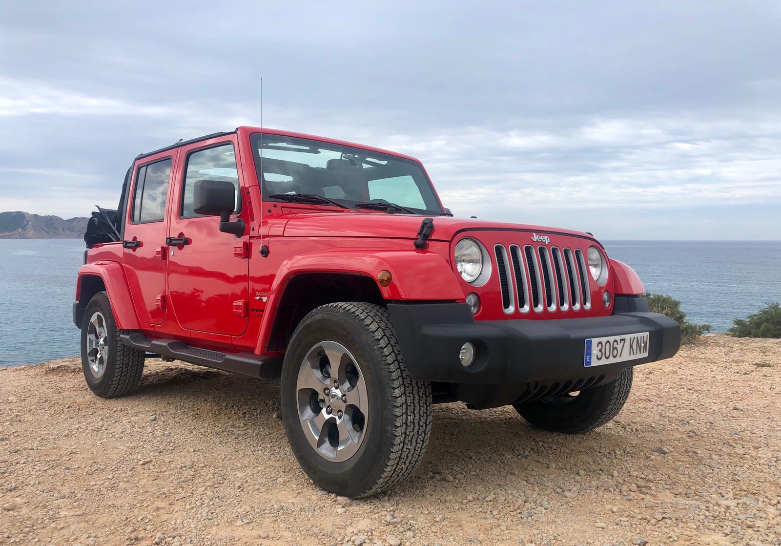 Jeep Wrangler Rental Ibiza