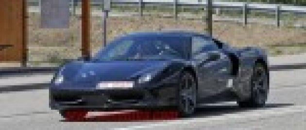 Mysterious Ferrari may be rumored Dino