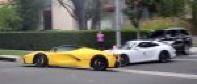 Qatari sheikh flees US after speeding Ferrari [w/video]