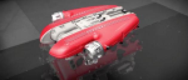 Take a video tour of the Ferrari F12 TdF's V12 engine