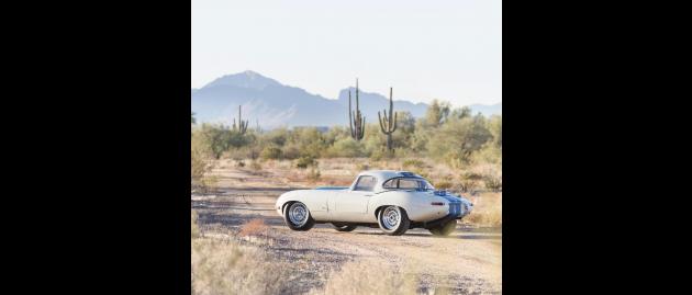 Ferrari and Jaguar dominate the 2017 Arizona Auctions