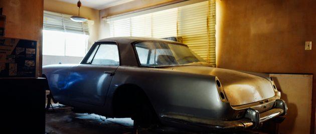 Classic Ferrari locked away for decades inside Hollywood apartment