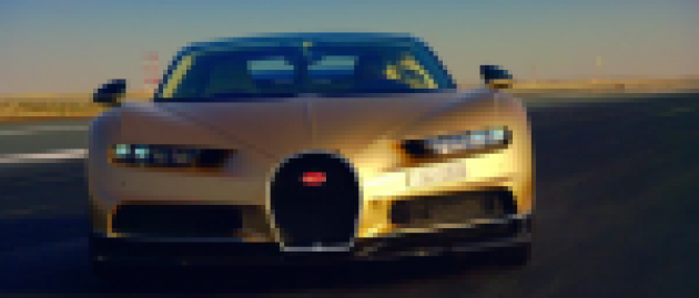 Top Gear's latest trailer shows off a golden Bugatti Chiron