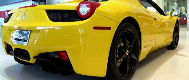 No pink: Why Ferraris only come in red, yellow, white, etc.