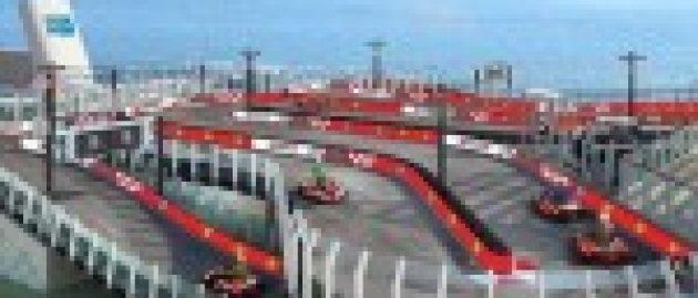 Massive cruise ship features Ferrari go-kart track