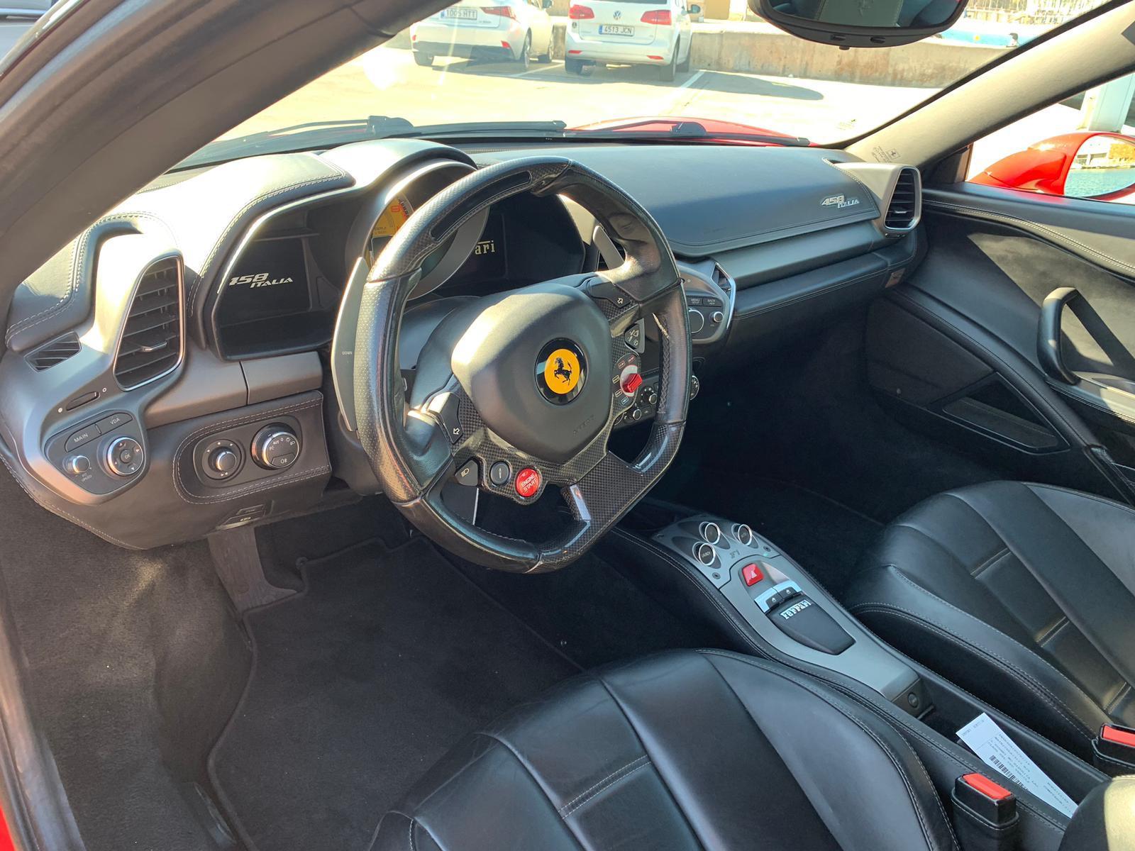 Ferrari 458 Italia Rental Ibiza