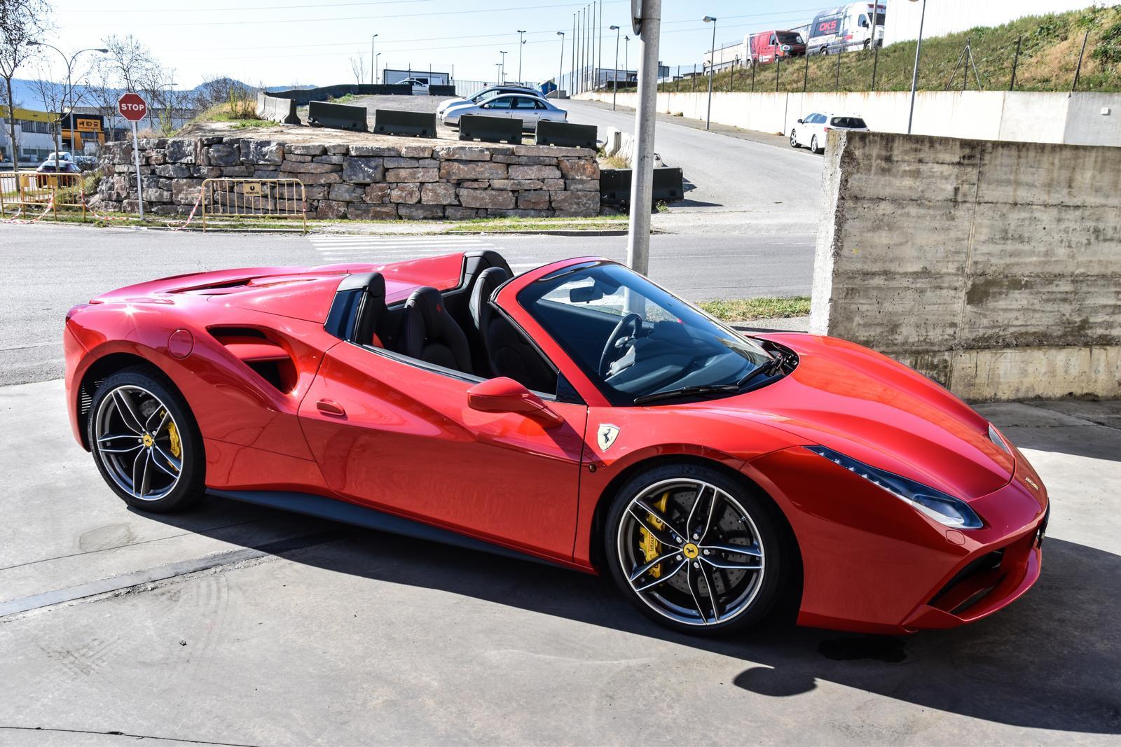 Ferrari 488 Spider Rental Ibiza (3)