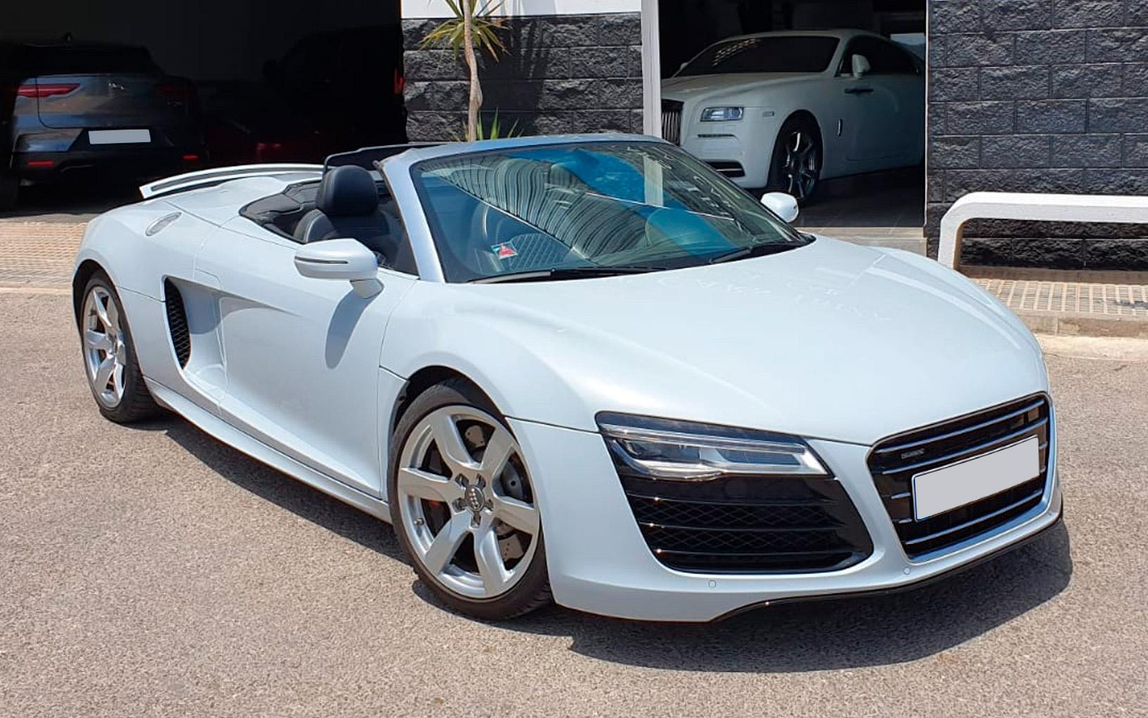 Audi R8 V10 Plus Spider Luxury Cars Ibiza Luxury Car Rental In Ibiza Island