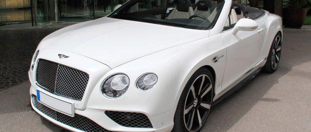 Bentley Continental GTC V8 Biturbo