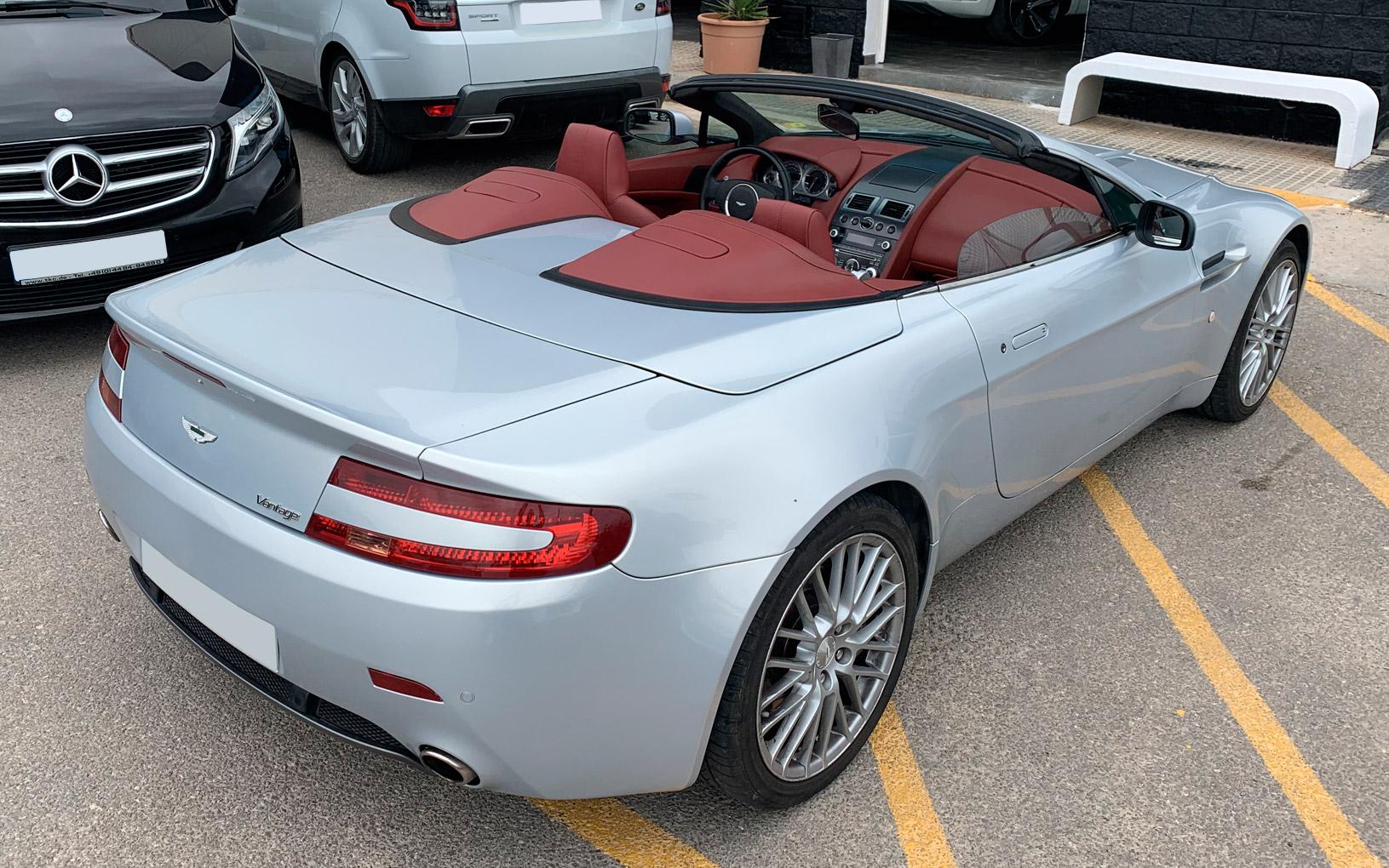 Aston Martin Vanquish Rental Ibiza (1)
