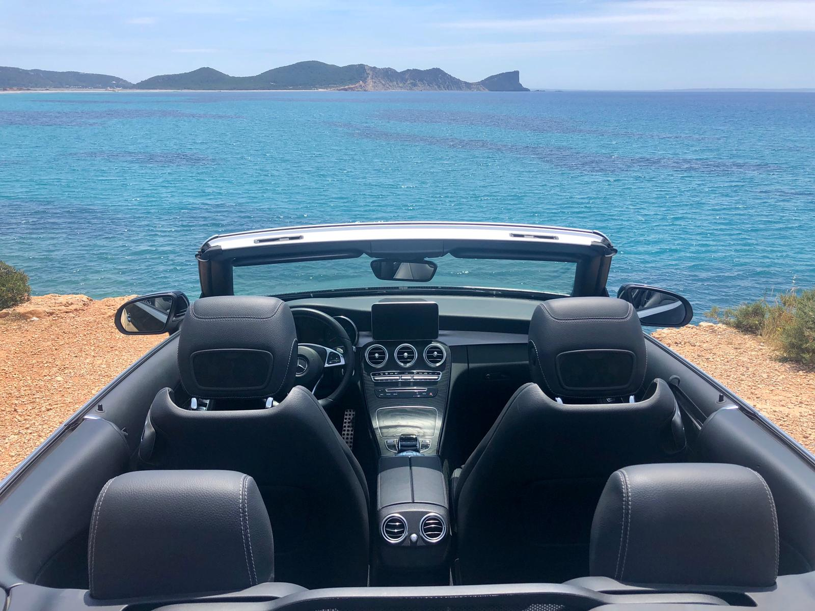 Range Rover Evoque Cabrio Rental Ibiza