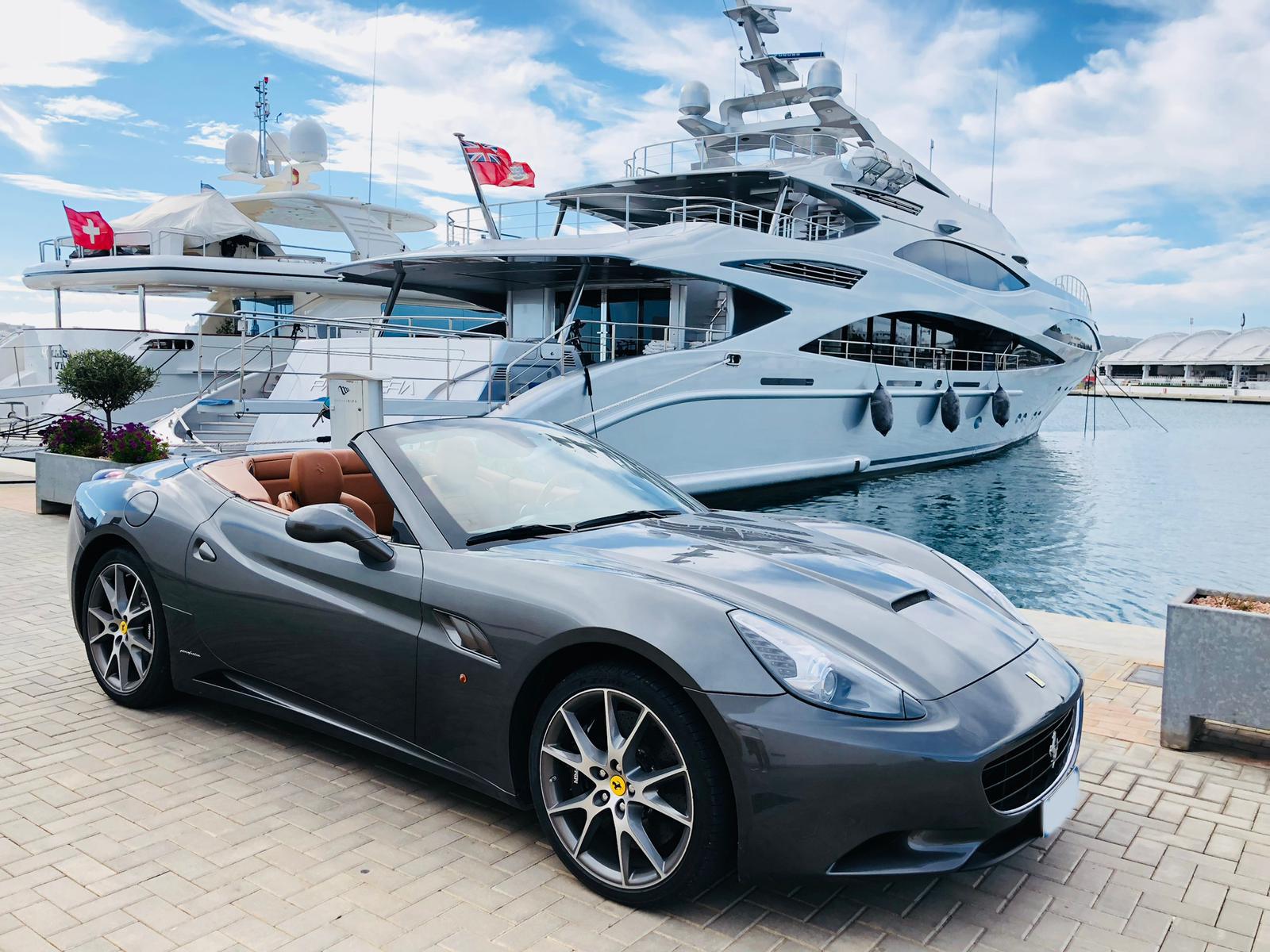 Ferrari California Rental Ibiza
