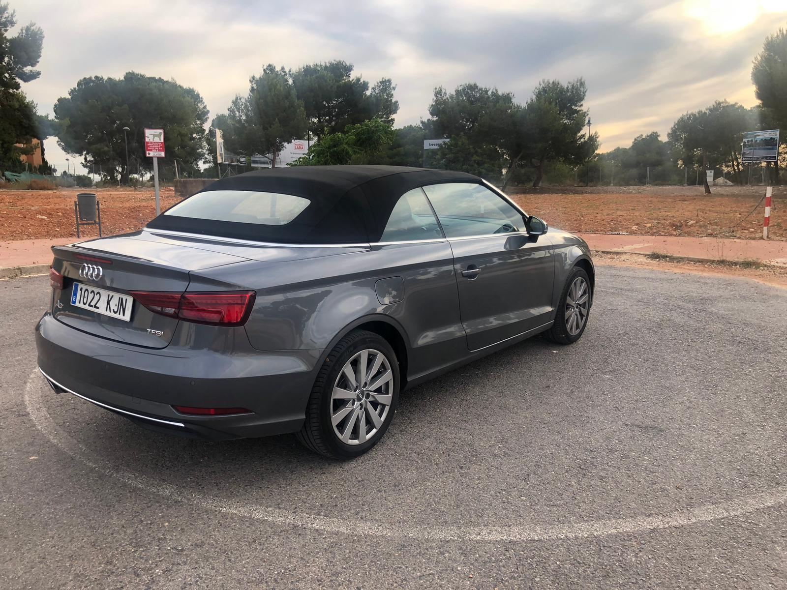 Audi A3 Cabrio Rental Ibiza