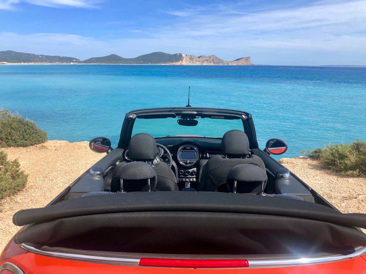 Mini Cooper Cabrio Rental Ibiza (4)