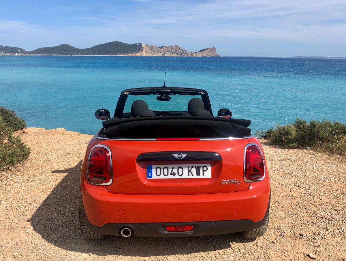 Mini Cooper Cabrio Rental Ibiza (7)