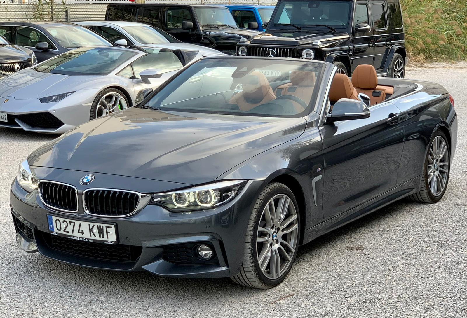 BMW Serie 4 Cabrio Rental Ibiza (1)