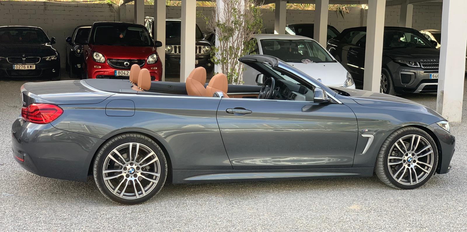 BMW Serie 4 Cabrio Rental Ibiza (2)