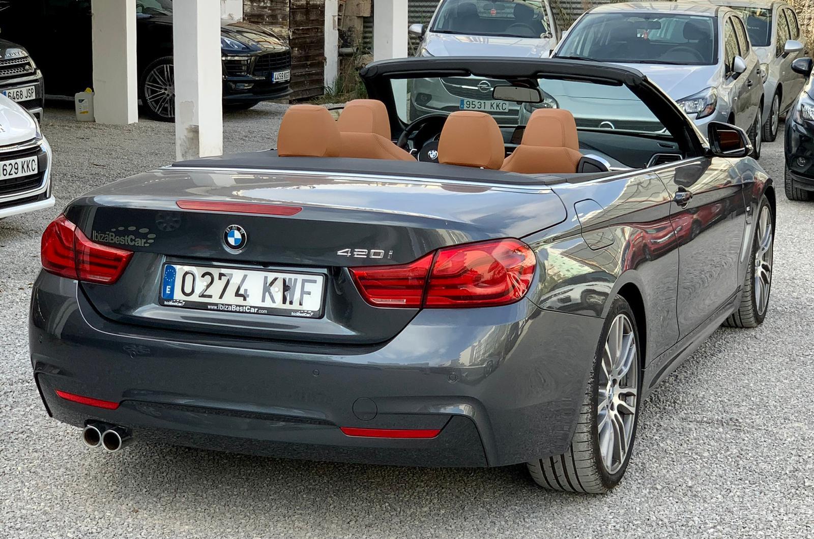 BMW Serie 4 Cabrio Rental Ibiza (4)