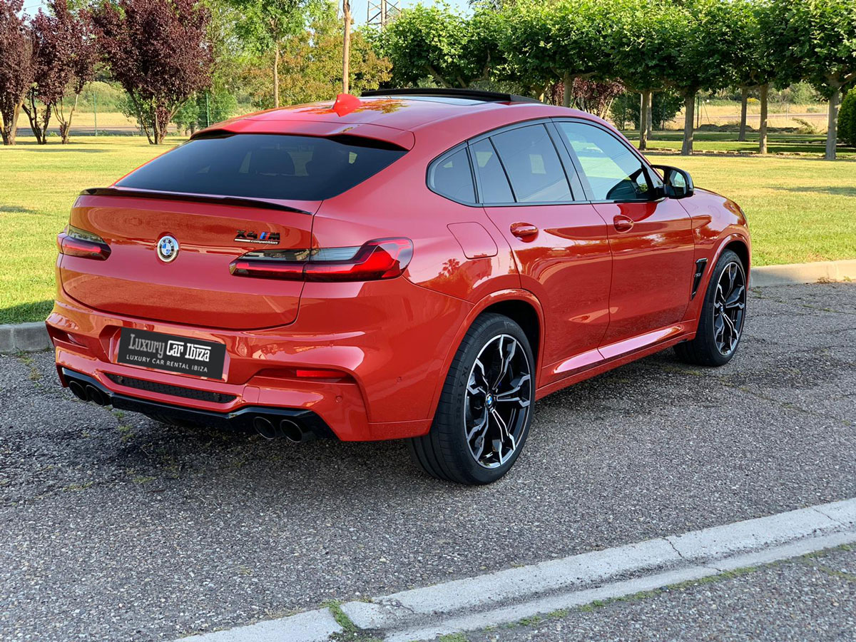 BMW X4 M pack Competition Rental Ibiza (4)