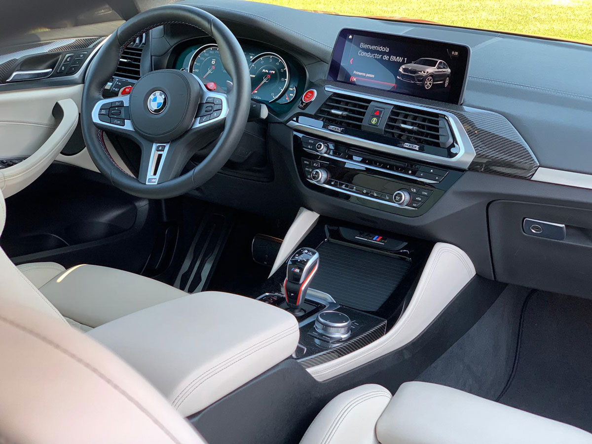 BMW X4 M pack Competition Rental Ibiza (5)