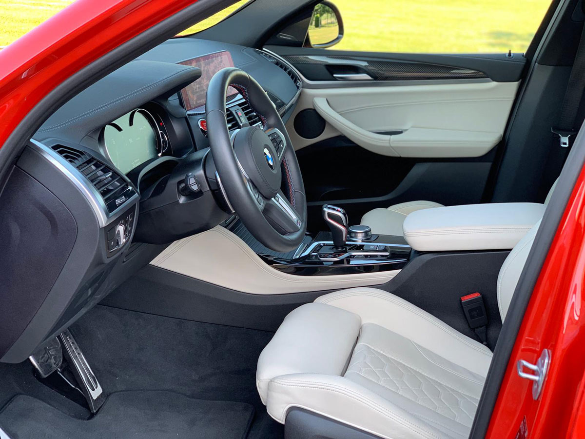 BMW X4 M pack Competition Rental Ibiza (7)