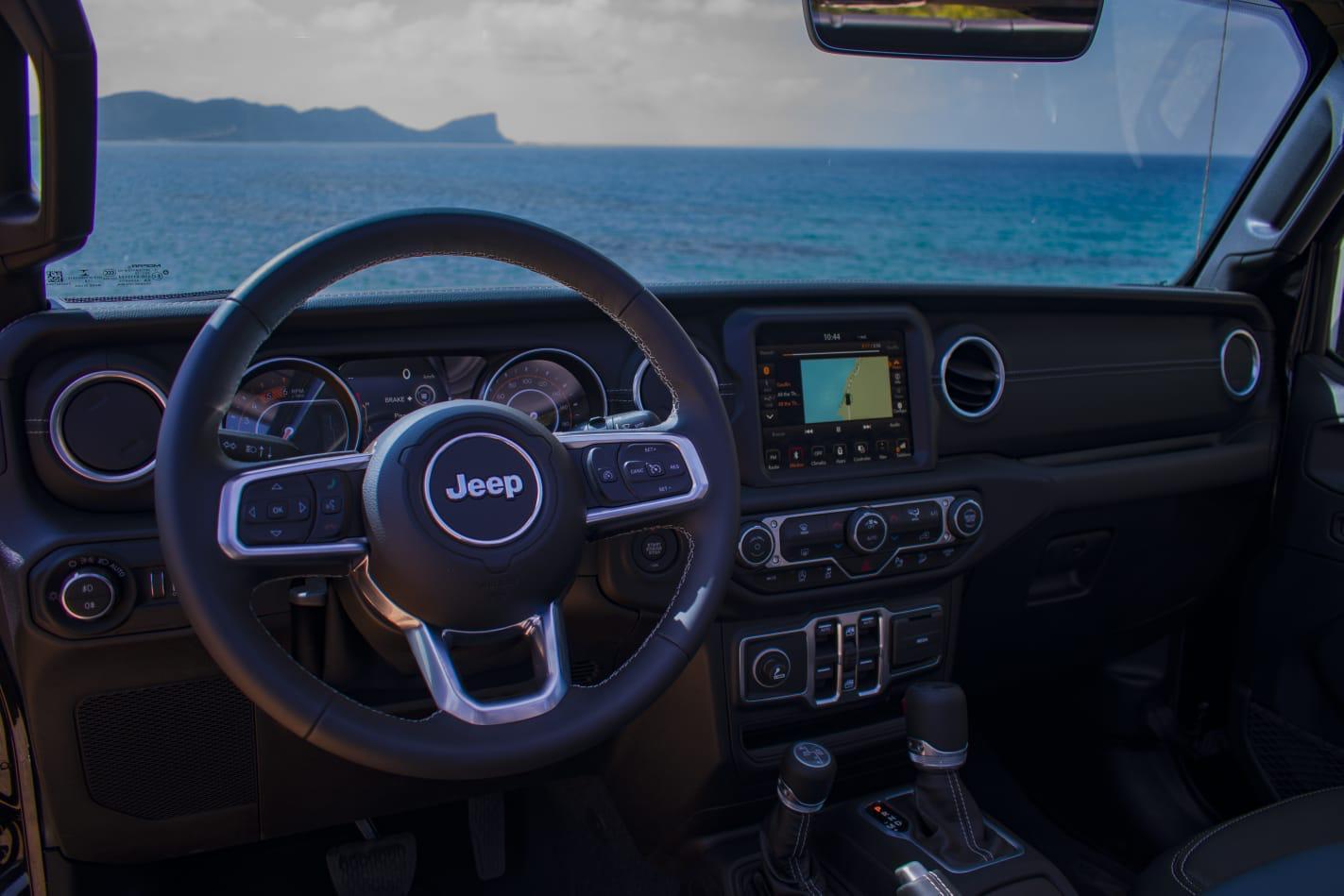 Jeep Wrangler 5 doors rental Ibiza (6)