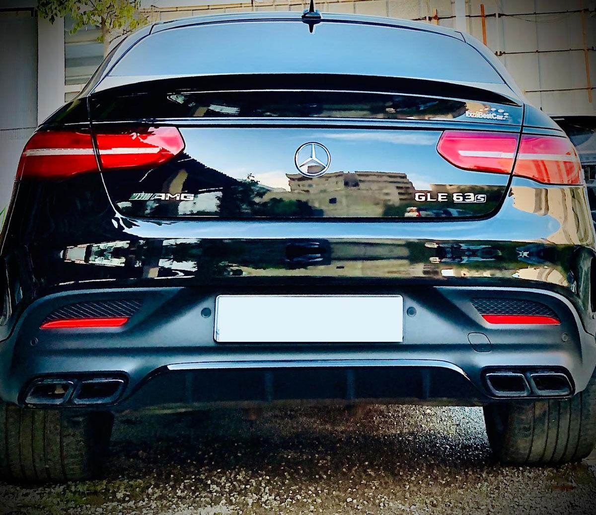 Mercedes GLE 63S Amg Rental Ibiza