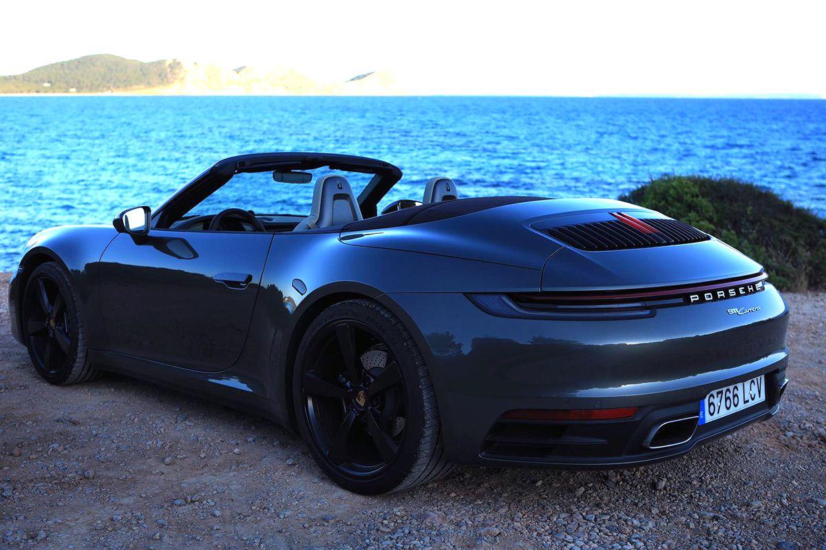 Porsche 911 922 Cabrio Rental Ibiza Model 2020 (2)
