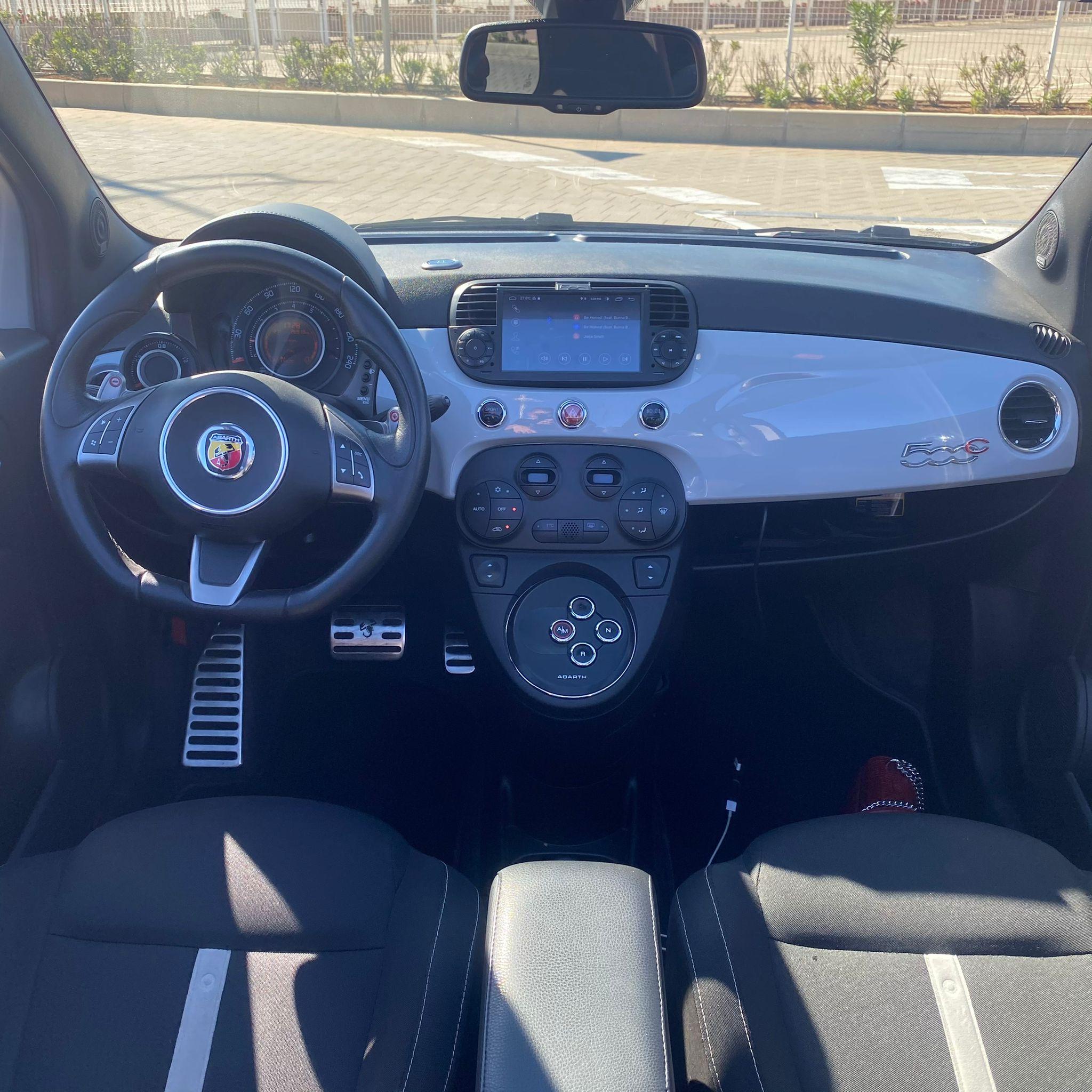Fiat Abarth Cabrio Rental Ibiza (1)