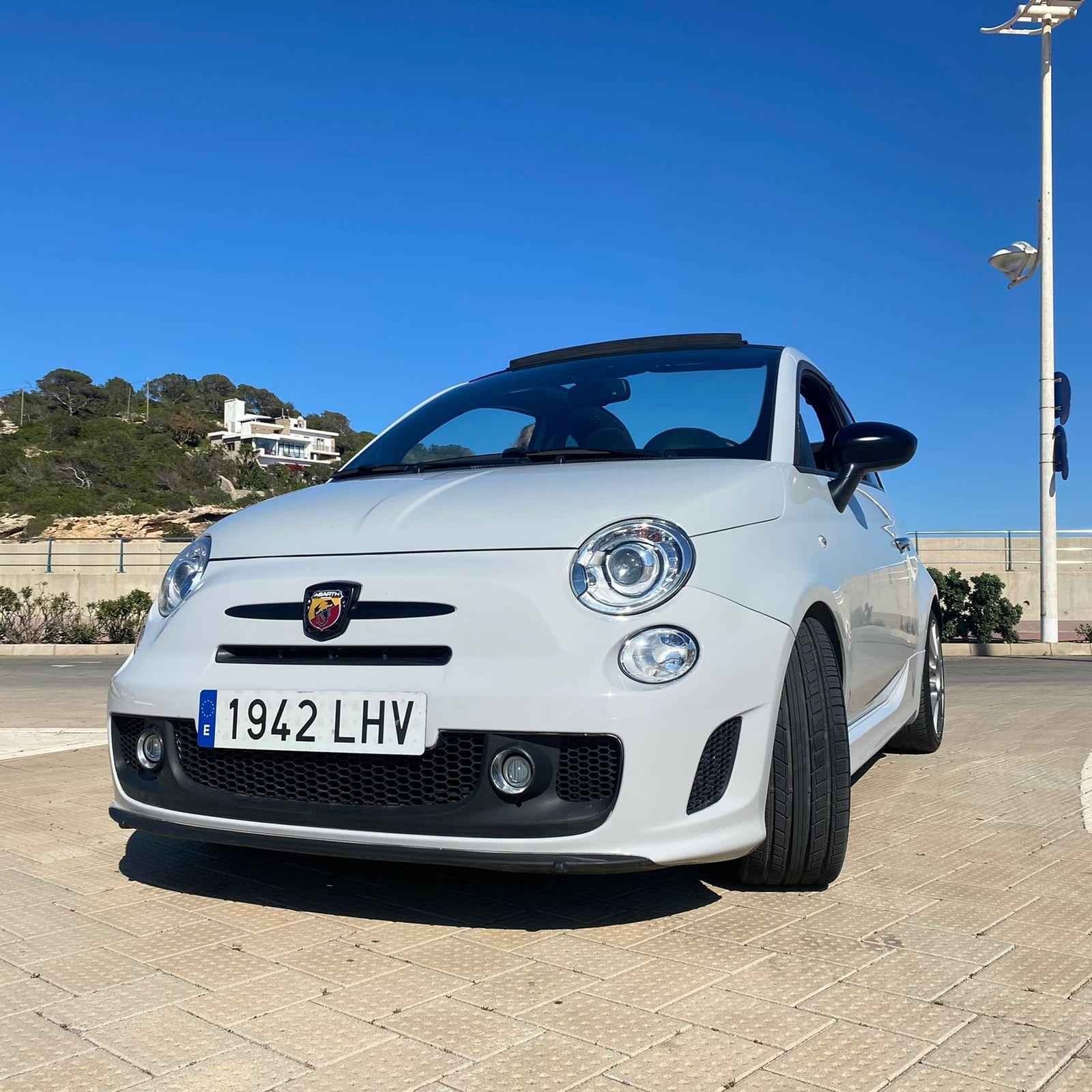 Fiat Abarth Cabrio Rental Ibiza (2)