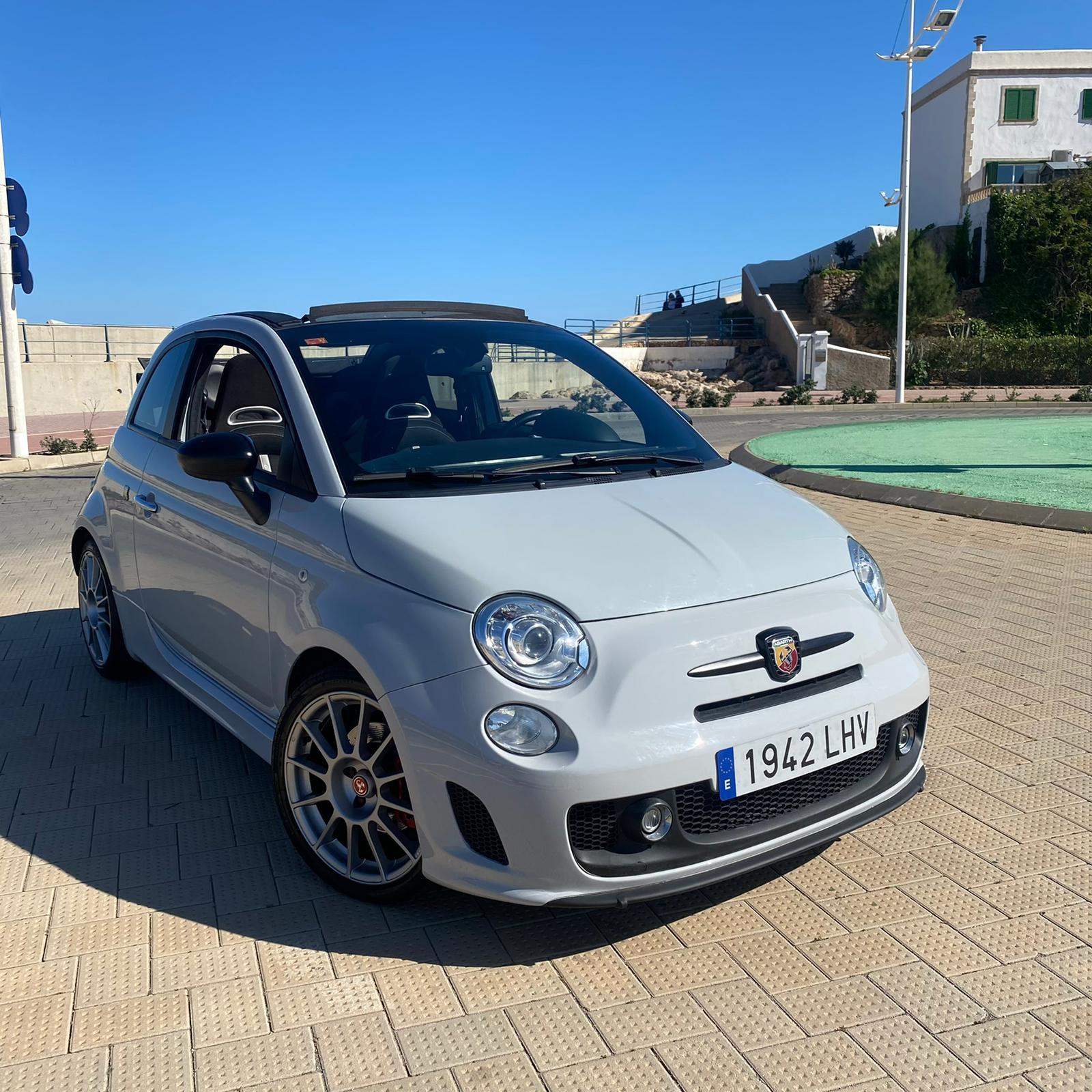 Fiat Abarth Cabrio Rental Ibiza (3)