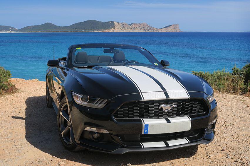 Ford Mustang Rental Ibiza (2)