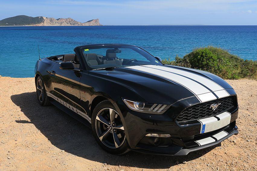 Ford Mustang Rental Ibiza (4)
