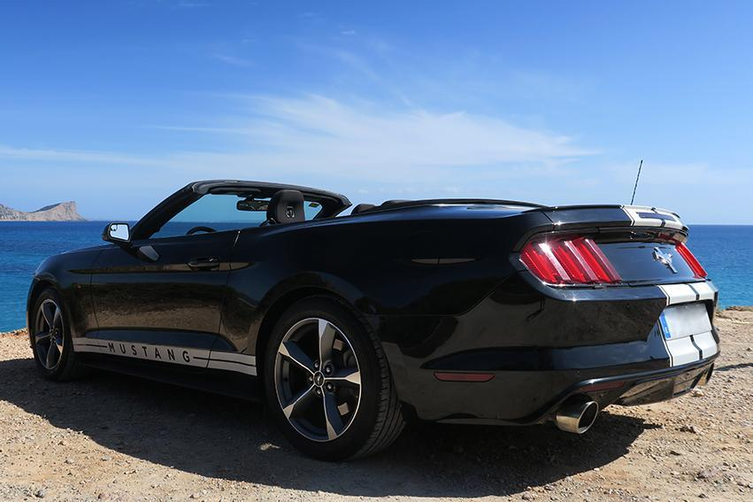 Ford Mustang Rental Ibiza (5)