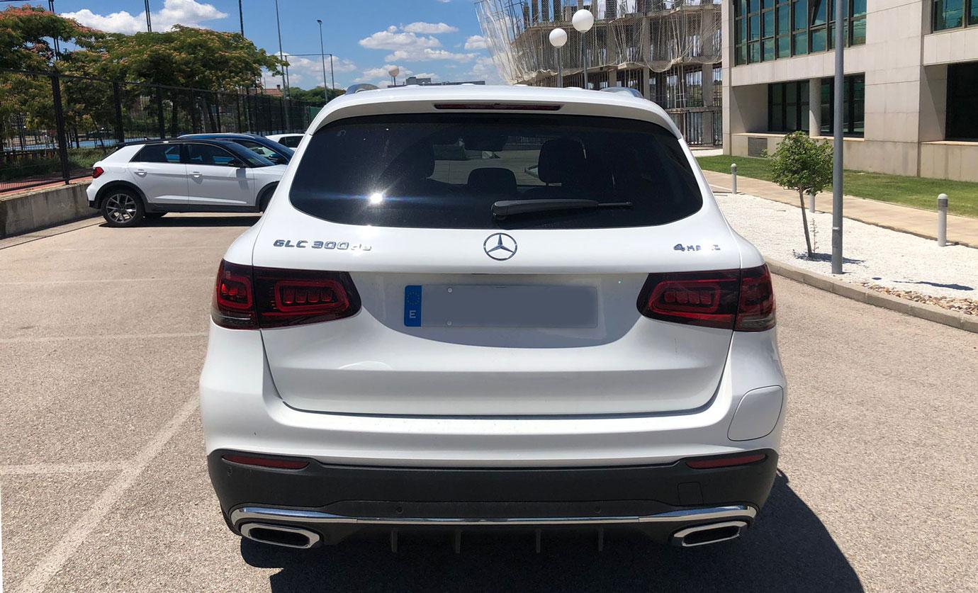 Mercedes GLC Rental Ibiza (5)